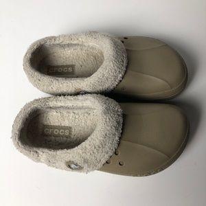 CROCS Lined Slip On Shoe Clog